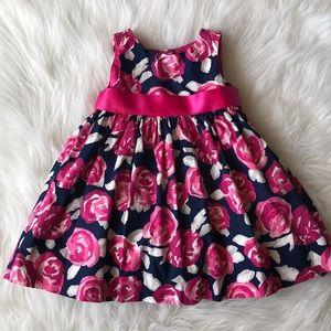 Girls Cotton Flower Dress